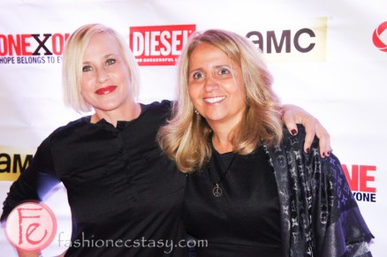 Patricia Arquette and Joey Adler