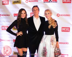 Chloe, Edward and Suzanne Rogers