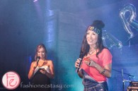 Melissa Grelo and Tanya Kim at Artbound pARTY 2013 - 90210