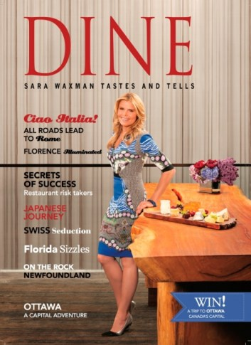 DINE Magazine 2013 Sep Issue Cover