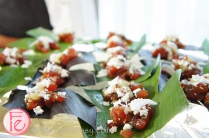 DINE Magazine Launch Party 2013 - Hawaiian tuna poke