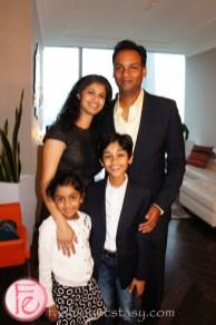 Rohan Chand & family
