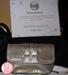 Silver Ball 2013 for Providence Healthcare- Swarovski purse