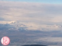 冰島航空機上看冰島 Iceland Airwaves
