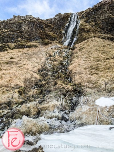 冰島塞里雅蘭瀑布 (Seljalandsfoss waterfall, Iceland)