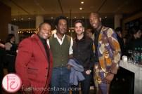 Reel Artists Film Festival (RAFF) 2014 Opening Night Party - Kehinde Wiley (L), Craig Fletcher (R)