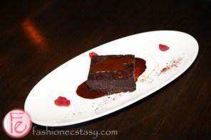 Mexican Chocolate Fudge Brownie