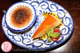 cheese flan & Natilla De Cajeta