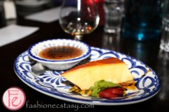 cheese flan & Natilla De Cajeta
