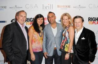 Right to Play Ball 2014 Craig Hurl, Anna Sousa, Lara Zink and An