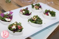 kale and goat cheese salad