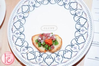tuna tartare Nicoise