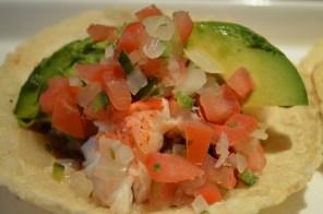 new menu- Lobster Tacos