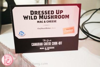Dressed Up Wild Mushroom mac n cheese