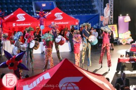 Scotiabank Buskerball 2014 in support of Epilepsy Toronto