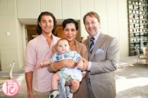 DINE Magazine Launch Party Waxman family