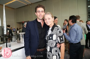 DINE Magazine Launch Party Aristotle Andrulakis Andrea Bolley