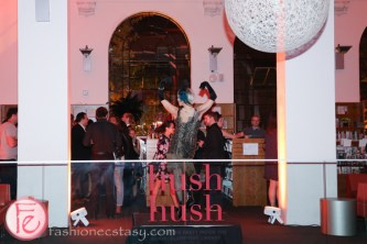 flapper dancer at Hush Hush Bash 2014 Speakeasy toronto public library