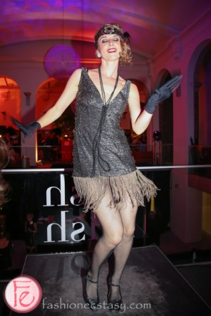 flapper dancer at hush hush bash 2014