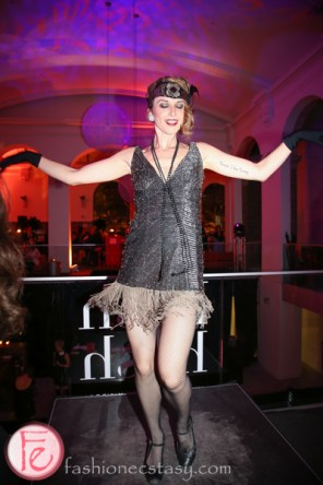 flapper dancer at hush hush bash 2014