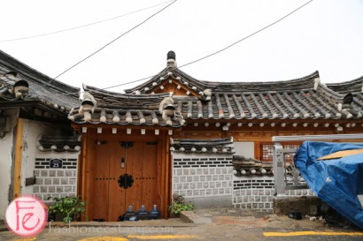 Korean traditional architecture at Bukchon Hanok Village