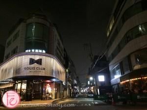Garosu-gil a hip bar street in Seoul