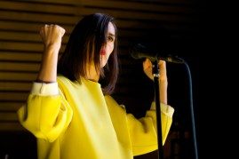 Yelle performing at Operanation 2014