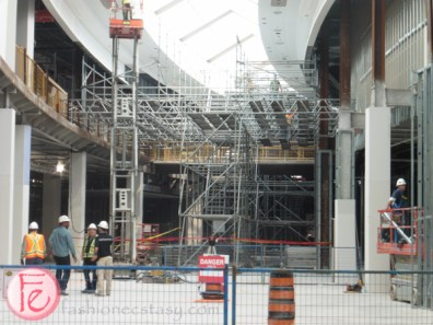 Sherway Gardens under construction