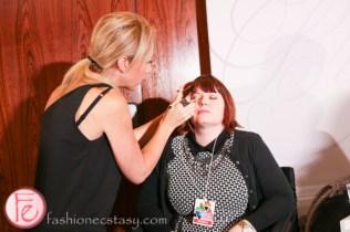 contessa awards über-glam gala 2014 makeup station