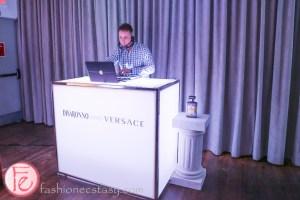 Disaronno Wears Versace dj