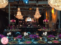 Le Grand Bal Masquerade 2014 fermenting cellar dinner set up