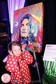 Jessica Gorlicky jessgo the sound of art exhibit kid leith headset