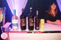 Jessica Gorlicky jessgo the sound of art exhibit wine station