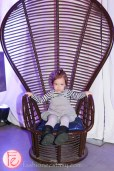 cute girl in chair jessgo the sound of art exhibit