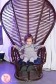 cute girl in chair jessgo the sound of art exhibit
