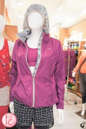 Lole jacket with reflective thread