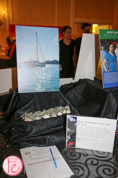 silent auction Silver Ball 2014 for Providence Healthcare