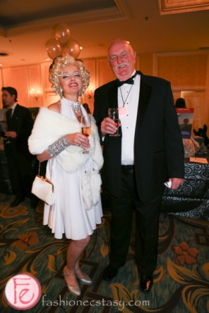 marilyn monroe at Silver Ball 2014 for Providence Healthcare Hollywood theme