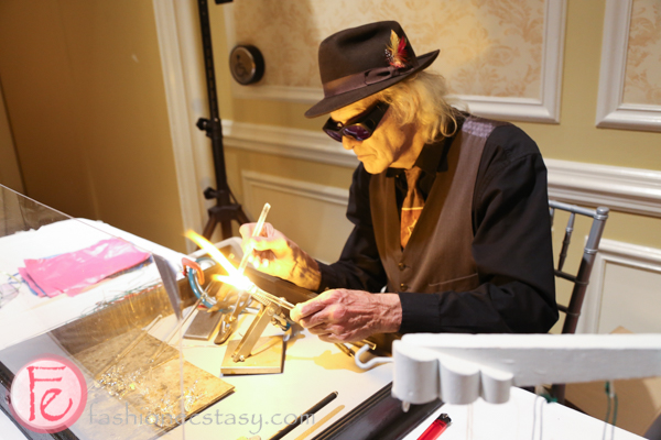 glassblower at Silver Ball 2014