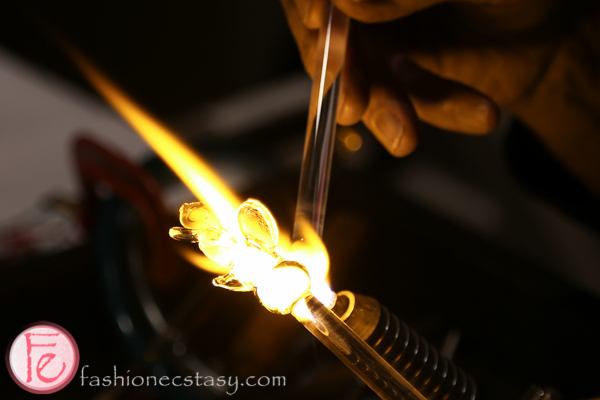 glassblowing at silver ball 2014