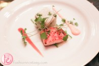 togarashi seared salmon at silver ball 2014 fairmont royal york