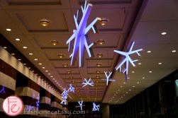 Snowfall Art Installation at Brookfield Place