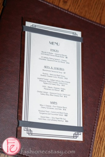 cc lounge menu