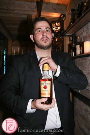 four roses whisky at cc lounge