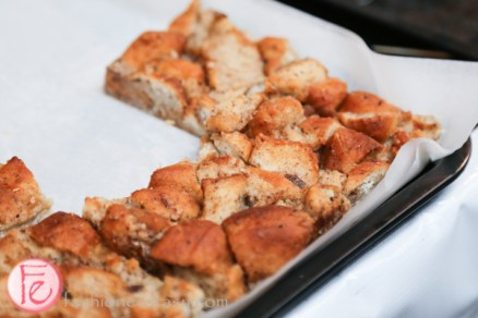 bread pudding at canadian artisan tasting fair catf 2014