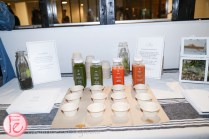 healthy juices at surfset opening party