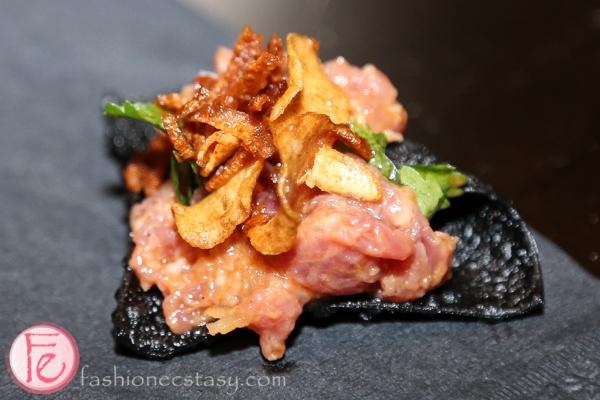 tuna tartare at Taste Taiwan 2014