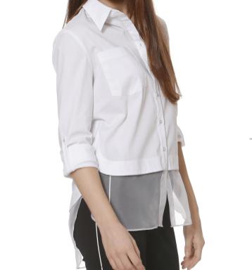 Donna Degnan SS15 organza shirt