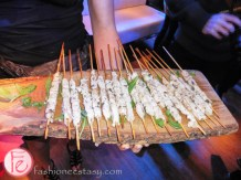 chicken skewers FFWD Toronto Star Cocktail Reception 2015
