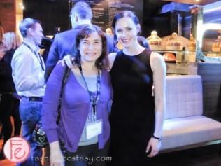 FFWD Toronto Star Cocktail Reception 2015 Sari Colt Tessa Virtue